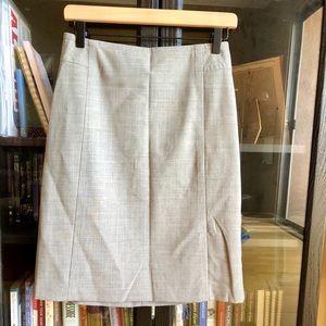 Banana Republic grey pencil skirt